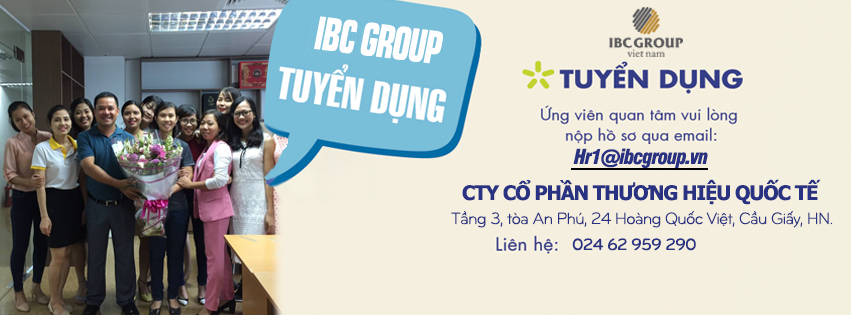 tuyển dungj ibc group